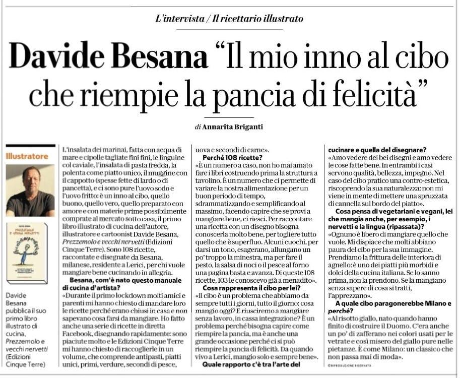 Rassegna stampa Davide Besana